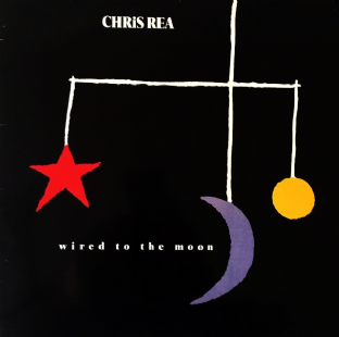 Chris Rea ‎- Wired To The Moon (LP) (VG-EX/VG-)